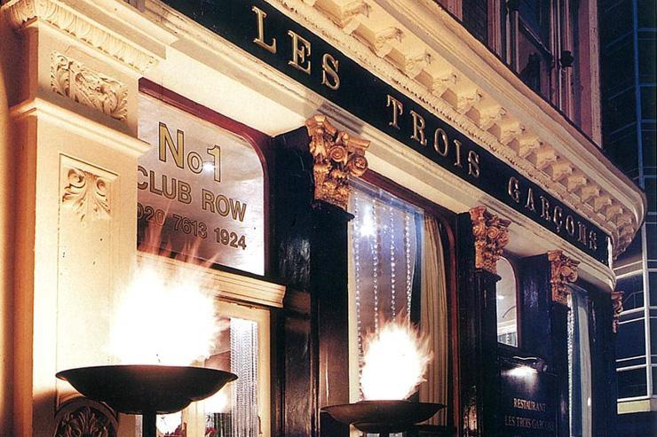 Les Trois Garçons - Extérieur du restaurant