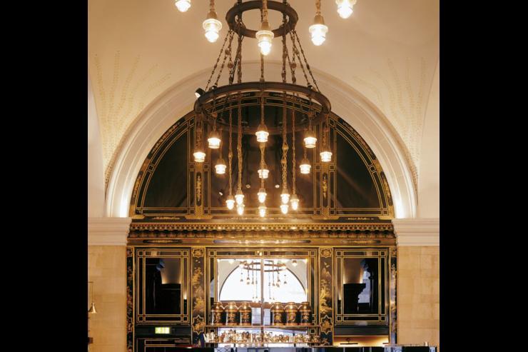 The Wolseley - Intérieur du café-restaurant, inspiré des grands cafés européens