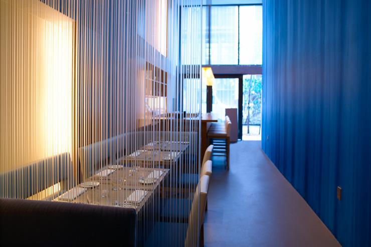 Aldea - Intérieur du restaurant