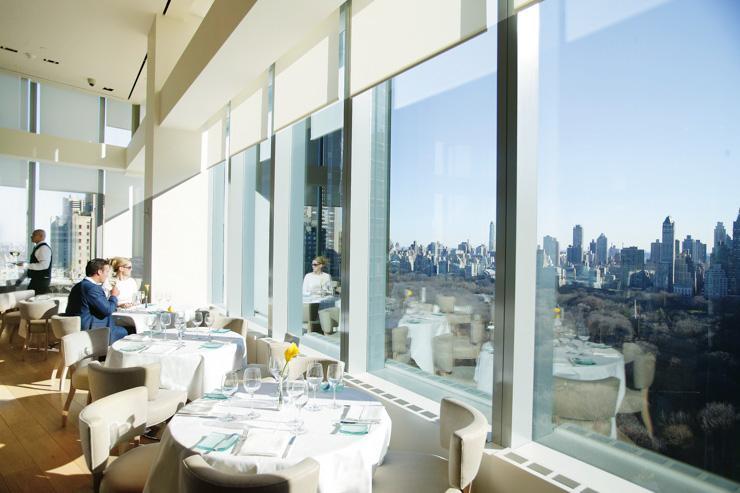 Asiate au Mandarin Oriental New York - Table avec vue sur Central Park