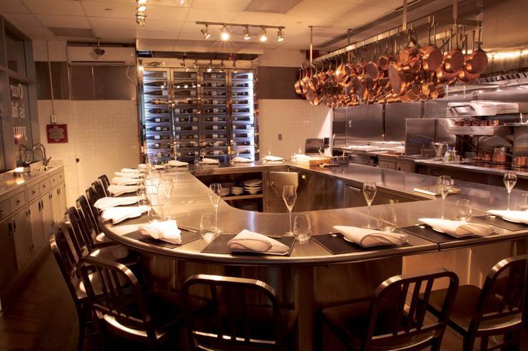Chef's Table at Brooklyn Fare - Le comptoir