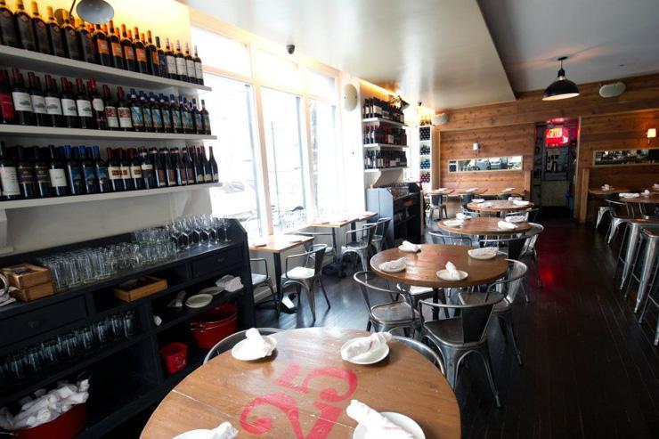 Corsino Cantina Italiana - Intérieur du restaurant