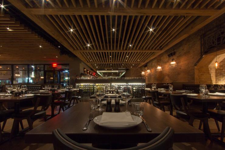 Enduro - Intérieur du restaurant