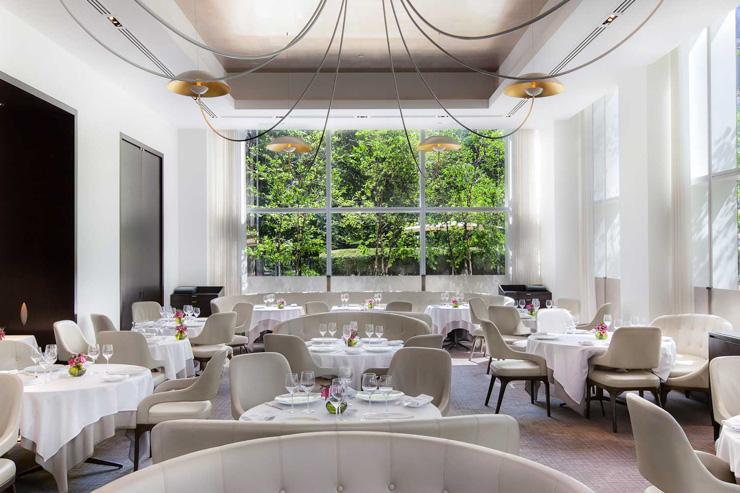 Jean Georges - Intérieur du restaurant