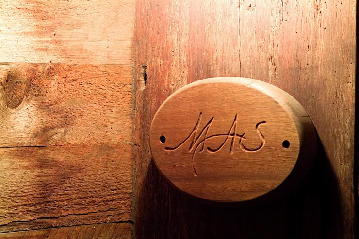 Mas Farmhouse - Entrée du restaurant