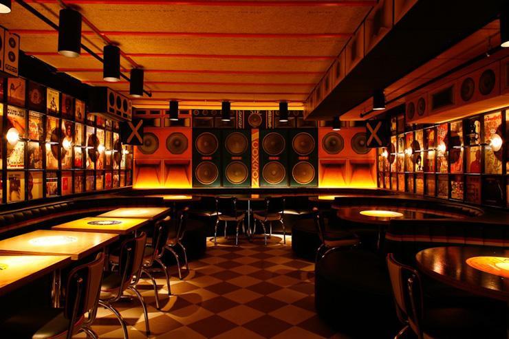 Miss Lily's - Intérieur du restaurant