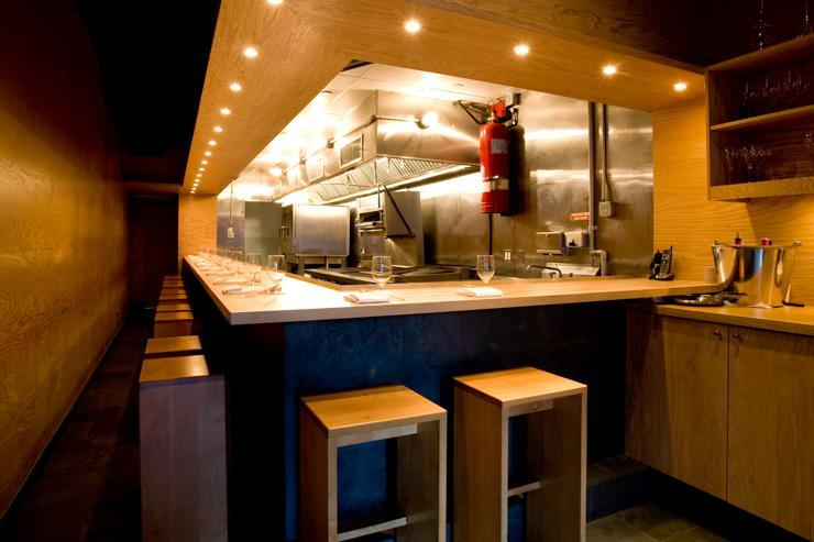 Momofuku Ko - Intérieur du restaurant