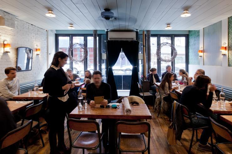 Northern Spy Food Co. - Intérieur du restaurant