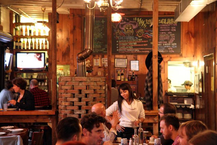 Roberta's Pizza - Intérieur du restaurant