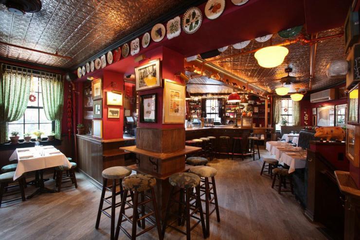 The Spotted Pig - Intérieur du restaurant