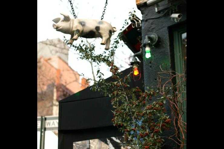 The Spotted Pig - Enseigne