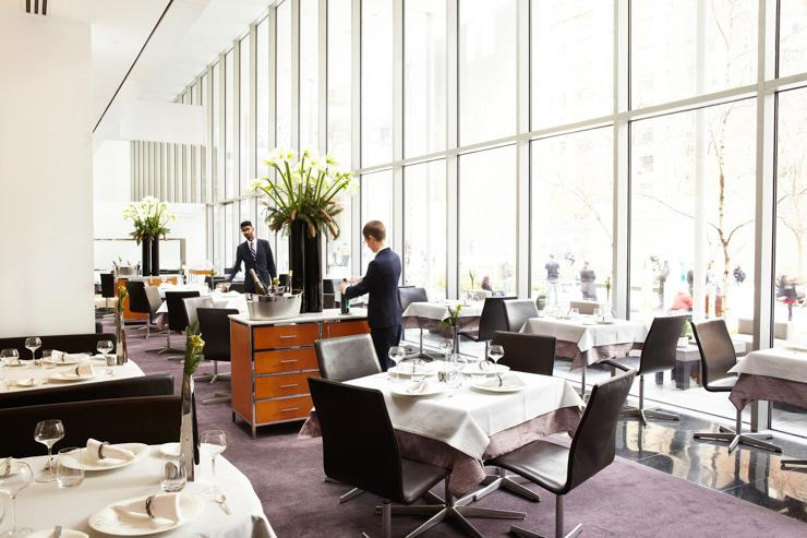 The Modern au MoMA - Intérieur du restaurant