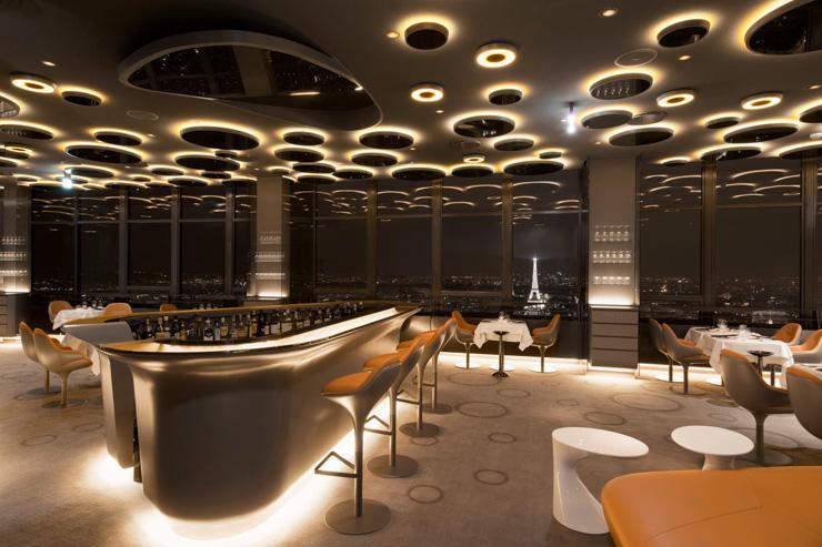 Le Ciel de Paris - Intérieur du restaurant