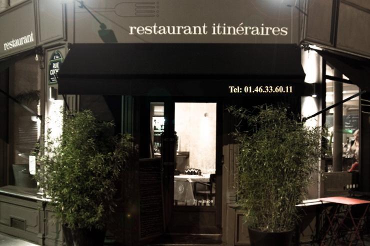 Restaurant Itinéraires - Façade extérieure