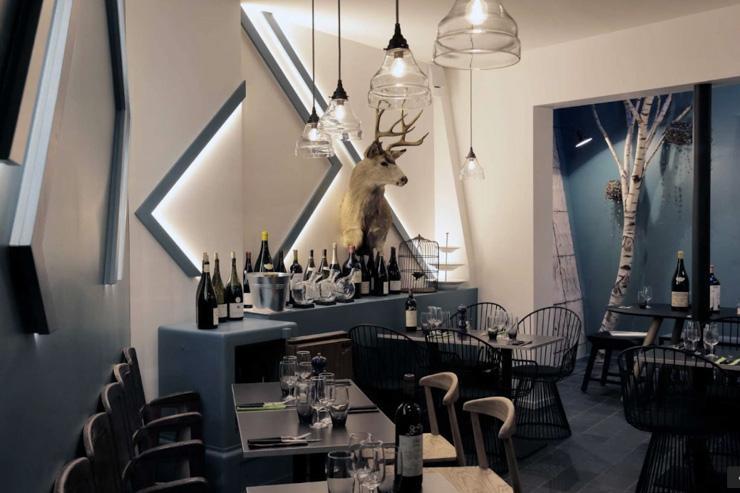 Jeanne B. - Intérieur du restaurant
