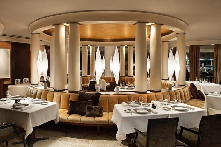 La rotonde de la salle à manger du Pur' au Park Hyatt Paris Vendôme