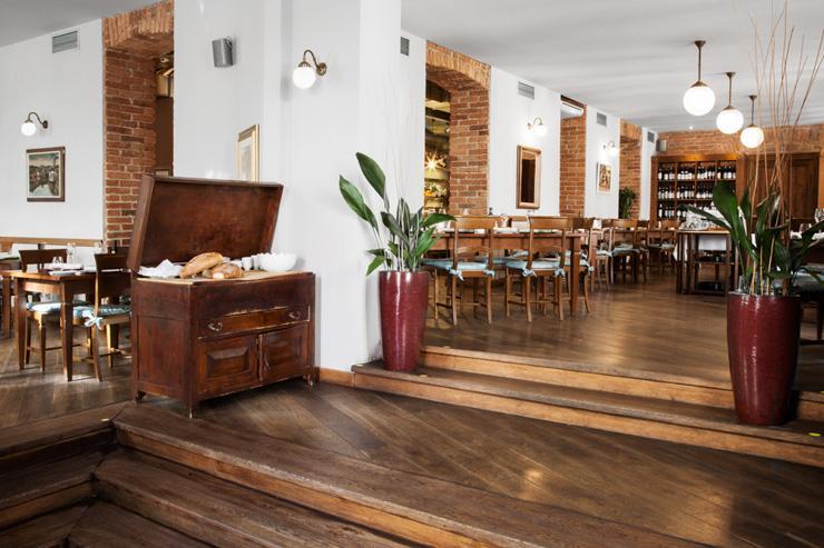 Intérieur du restaurant Aromi