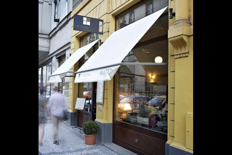 La Finestra in Cucina - Façade du restaurant