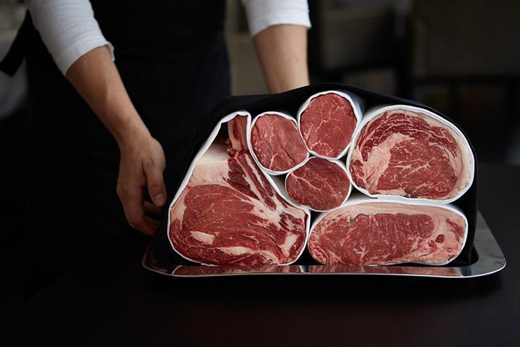 George Prime Steak - La viande, avant d'être cuite