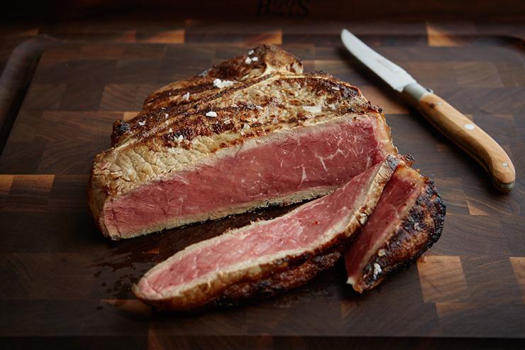 George Prime Steak - Steak parfaitement cuit