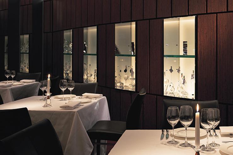 Intérieur du restaurant Argento Aso