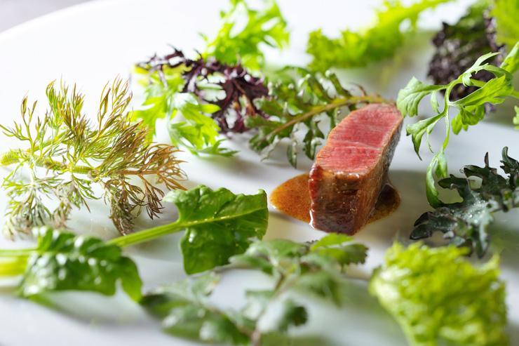 Aronia de Takazawa - Les plats séduisent par leur délicatesse