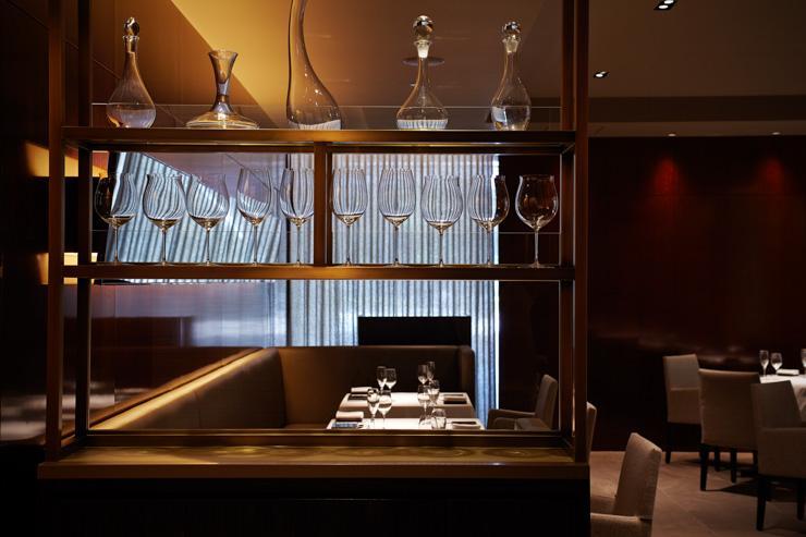 Intérieur du restaurant Quintessence