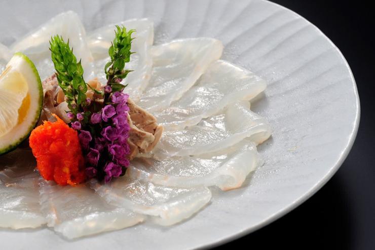 Fugu servi au Usuki Fugu Yamadaya