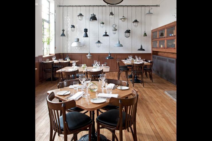 The Corner Room - Intérieur du restaurant