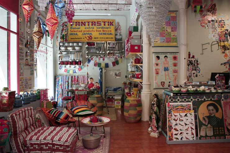 Fantastik Barcelona - Intérieur du magasin