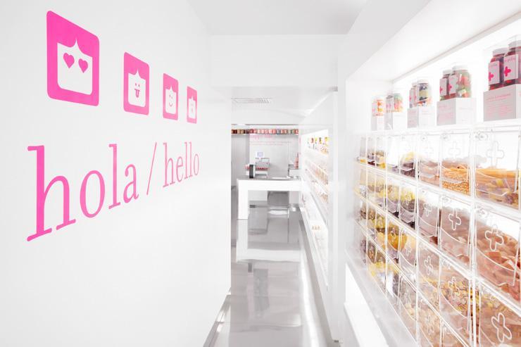 Happy Pills - Intérieur de la boutique