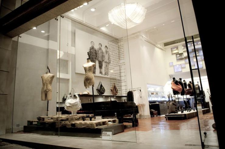 Bothos - Vue d'ensemble du concept store