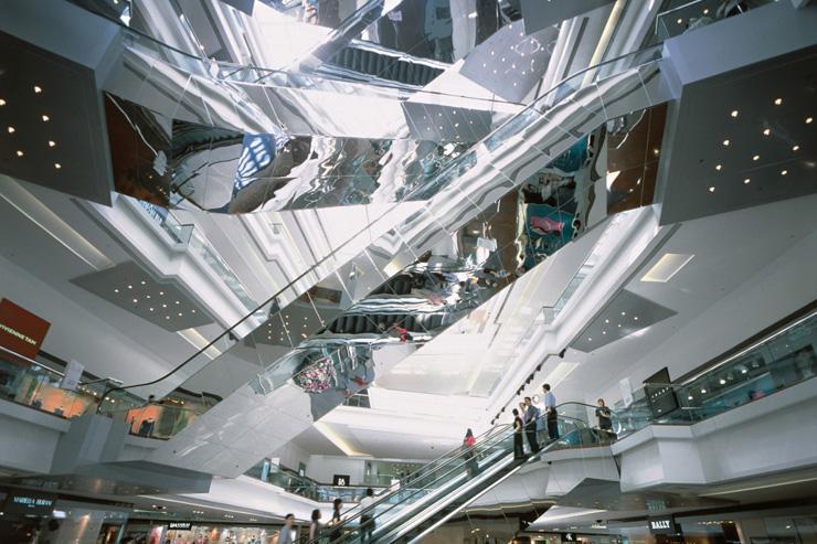 Festival Walk - Architecture futuriste