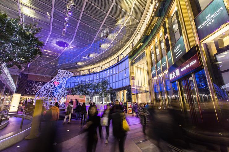 K11 - Art Mall - Vue d'ensemble du mall