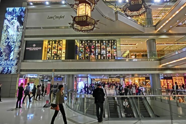 Lane Crawford - Intérieur du department store