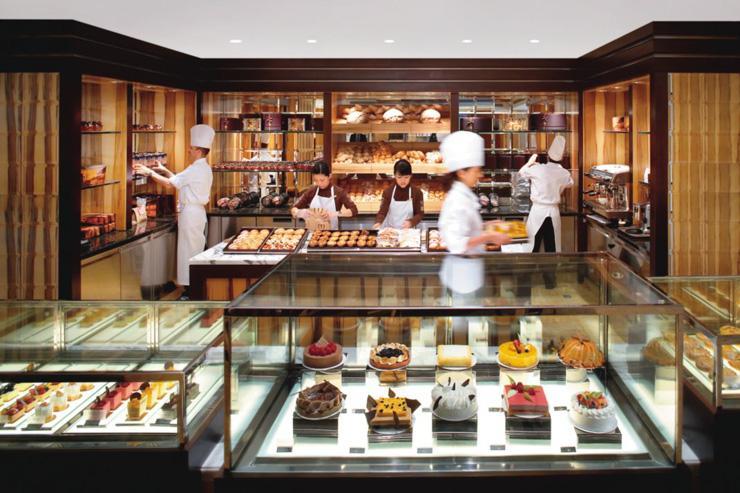 Mandarin Oriental - La pâtisserie du Mandarin Oriental Hong Kong