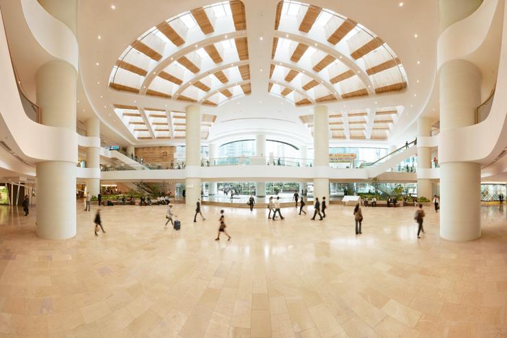 Pacific Place - Vue d'ensemble du mall