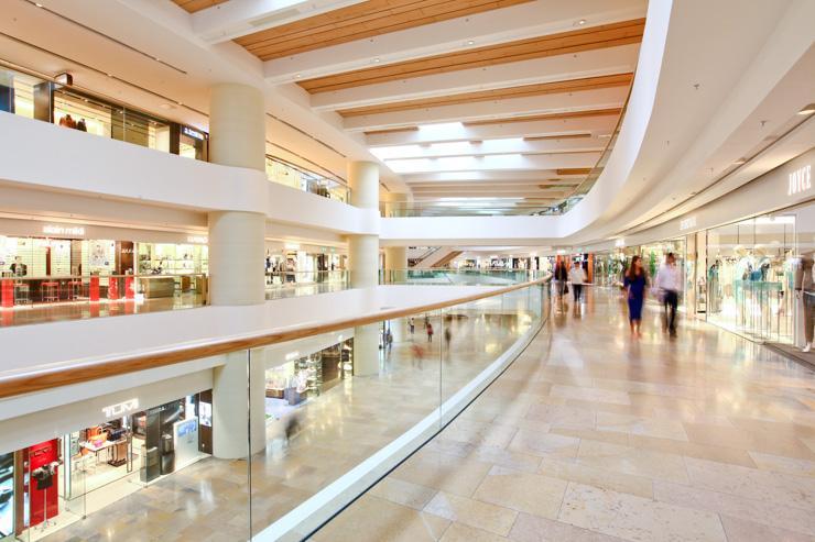 Pacific Place - Dans les étages du mall
