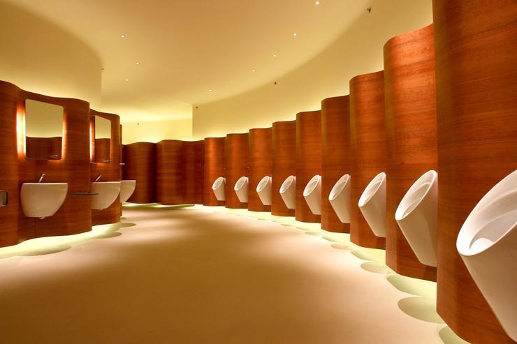 Pacific Place - Toilettes futuristes