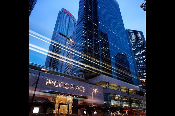 Pacific Place - Extérieur du mall