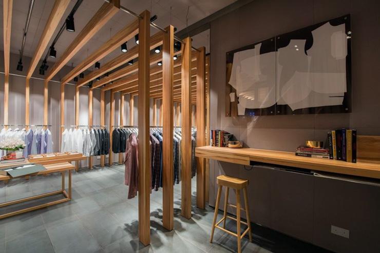 PYE Hong Kong - Intérieur de la boutique