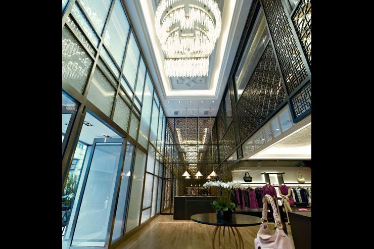 Shanghai Tang - Intérieur du flagship store