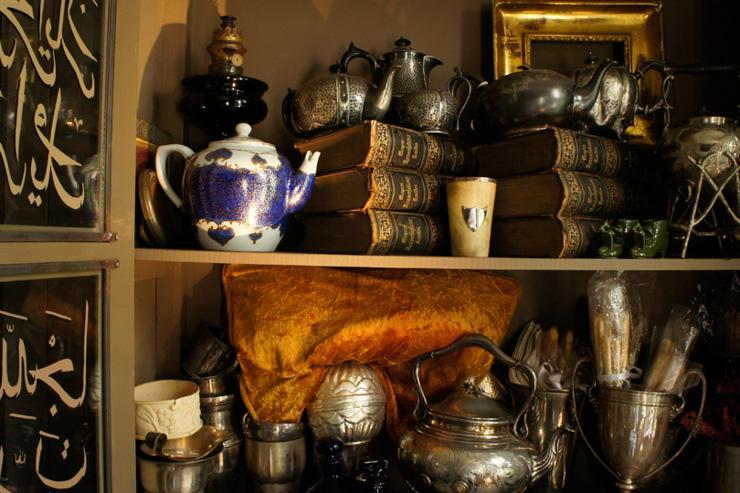 Intérieur de la boutique-musée A La Turca House