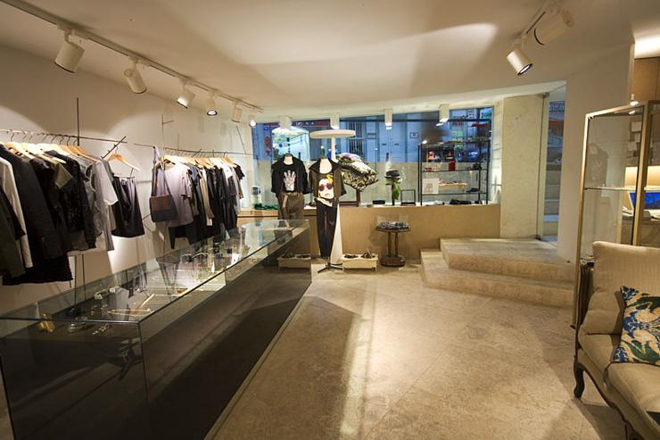 Intérieur du concept-store Midnight Express
