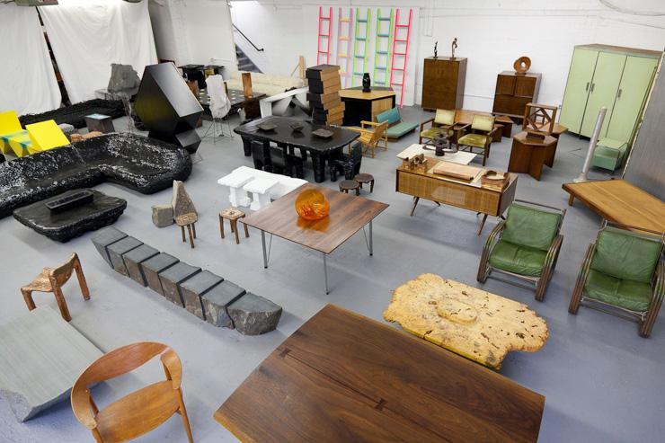 Johnson Trading Gallery - Intérieur du showroom