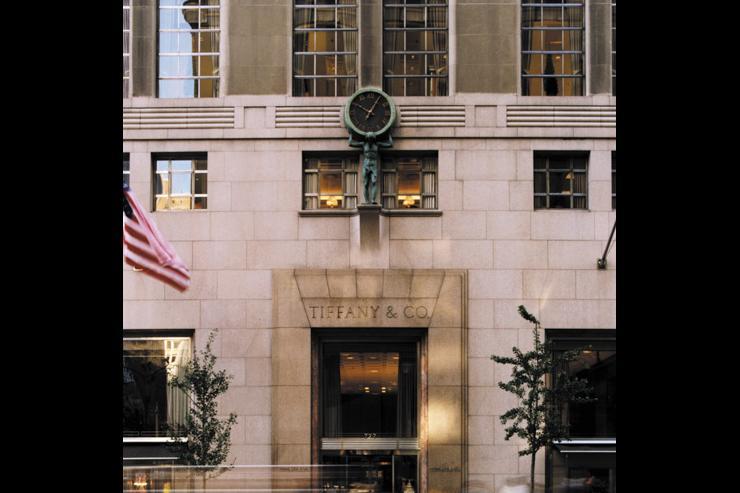 Tiffany & Co 5th Avenue - Façade de la boutique sur la 5ème Avenue