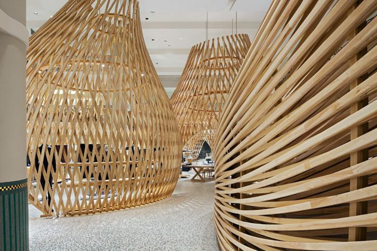 Hermès Rive Gauche - Intérieur du flagship store