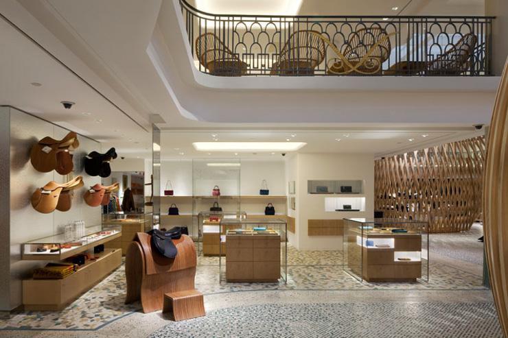 Hermès Rive Gauche - Espace dédié à la sellerie