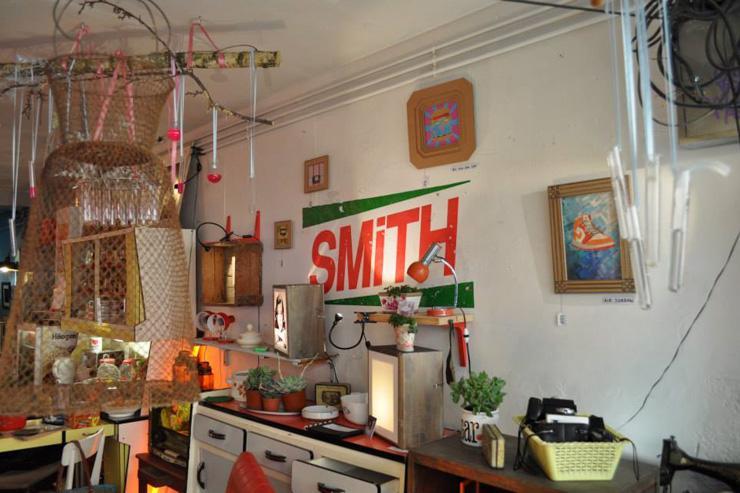 Intérieur de l'étonnante boutique Robert M. Smith