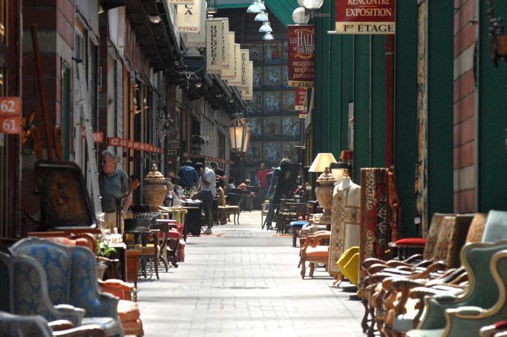 Marché Dauphine aux Puces de Saint-Ouen